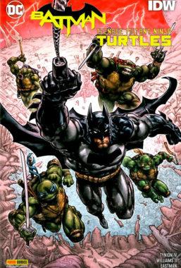 Copertina di Batman/Tmnt 3 – Crisi In Un Guscio