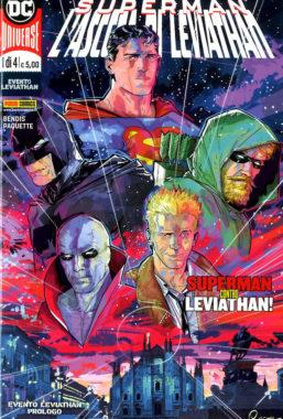 Copertina di Dc Crossover 1 – Leviathan n.1 (DI 4)