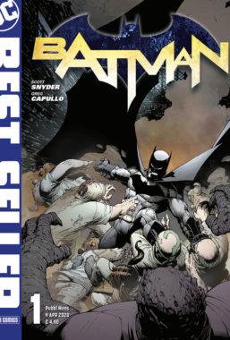 Copertina di DC Best Seller – Batman Di Snyder & Capullo n.1