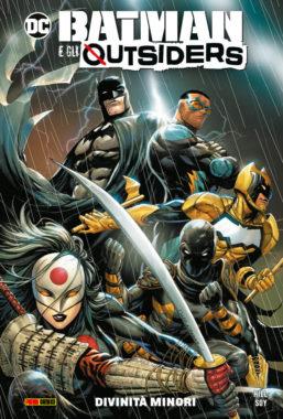 Copertina di DC Comics Collection – Batman E Gli Outsiders 1: Divinità minori