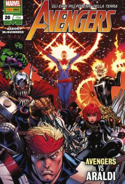 Copertina di Avengers n.124