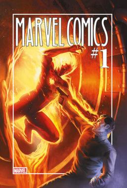 Copertina di Marvel Comics 1 – 80th Anniversary