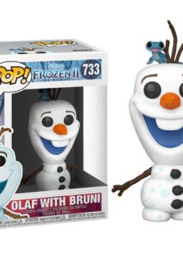 Copertina di Frozen 2 Olaf With Bruni Funko Pop 733