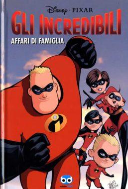 Copertina di Gli Incredibili: Affari Famiglia