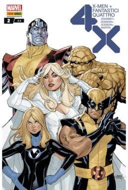 Copertina di X-Men/Fantastici Quattro 2