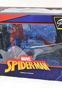 Copertina di Marvel Spider-Man Webbing Diorama