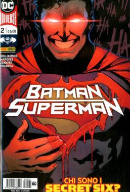 Copertina di Batman/Superman n.2