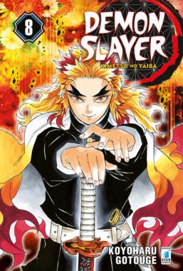 Copertina di Demon Slayer n.8