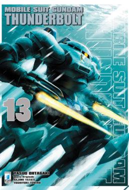 Copertina di Gundam Thunderbolt n.13 Gundam Universe 76