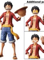 One Piece Grandista Nero Luffy Figure