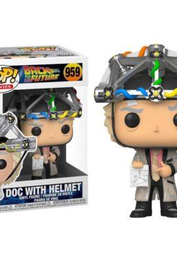 Copertina di Back to the Future Doc With Helmet Funko Pop 959