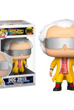 Copertina di Back to the Future Doc 2015 Funko Pop 960