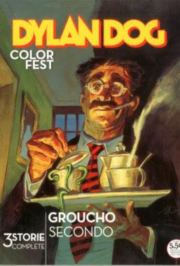 Copertina di Dylan Dog Color Fest n.34