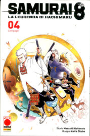 Samurai 8 – Leggenda Di Hachimaru n.4