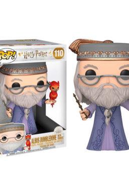 Copertina di Harry Potter Dumbledore W/Fawkes 10″ Funko Pop 110