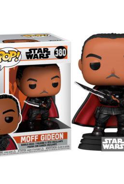 Copertina di Star Wars The Mandalorian Moff Gideon Funko Pop 380