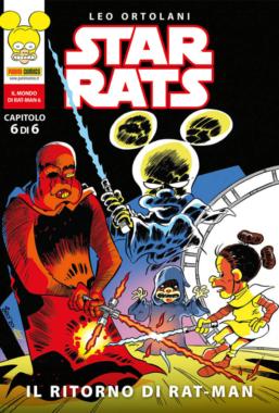 Copertina di Star Rats n.6
