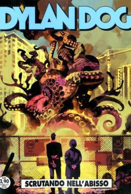 Copertina di Dylan Dog n.408 – Scrutando nell'abisso