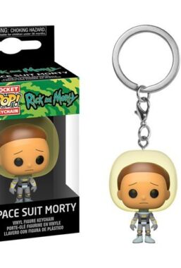 Copertina di Morty W/Space Suit Keychain