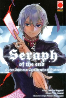 Copertina di Seraph of the end guren ichinose n.2