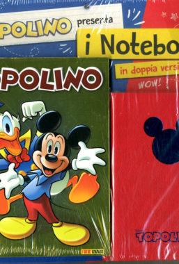 Copertina di Topolino n.3380 + agenda notebook