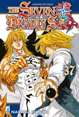 Copertina di The Seven Deadly Sins n.37