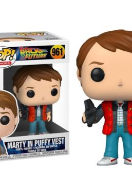 Copertina di Back to the Future Marty In Puffy Vest Funko Pop 961