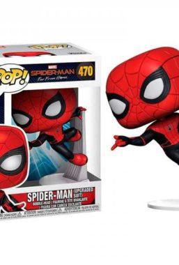 Copertina di Sm Ffh Spider-Man Upgraded Suit Funko Pop 470