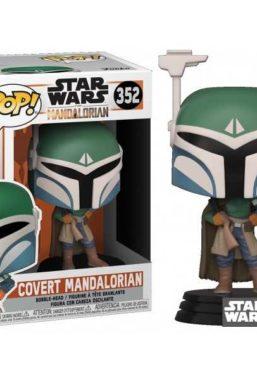 Copertina di Star Wars Mandalorian Covert Funko Pop 352