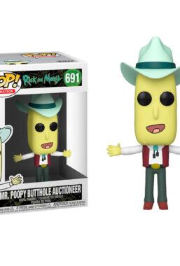 Copertina di Rick & Morty Mr.Poopy Butthole Funko Pop 691