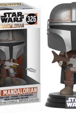 Copertina di Star Wars Mandalorian The Mandalorian Funko Pop 326