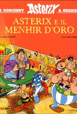 Copertina di Asterix E Il Menhir D'oro Cartonato