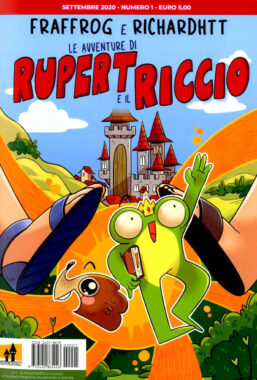 Copertina di Avventure Di Rupert E Il Riccio n.1