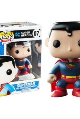 Copertina di DC Super Heroes Superman Funko Pop 07