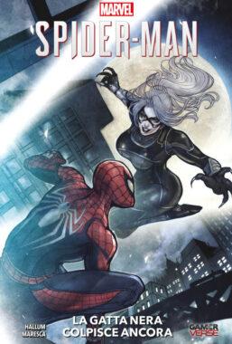 Copertina di Marvels Spider-Man 2 – La Gatta Nera Colpisce Ancora