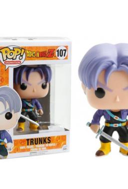 Copertina di Dragon Ball Z Trunks Funko Pop 107