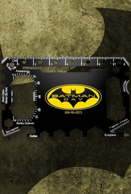 Copertina di Batman – Survival Card