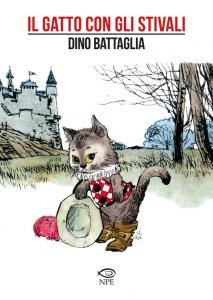Copertina di Dino Battaglia – Il Gatto Con Gli Stivali