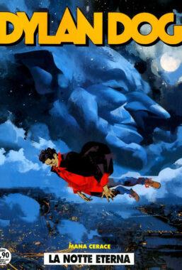 Copertina di Dylan Dog n.410 – La Notte Eterna