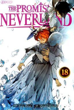 Copertina di The Promised Neverland n.18