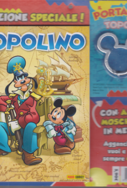 Copertina di Topolino n.3390 + Portachiavi Metallo