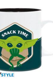 Star Wars Mandalorian Baby YodaFrog Mug