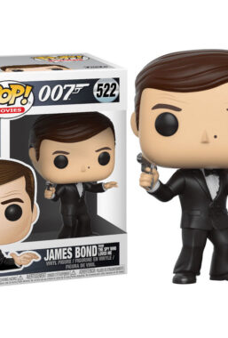 Copertina di James Bond Roger Moore Funko Pop 522
