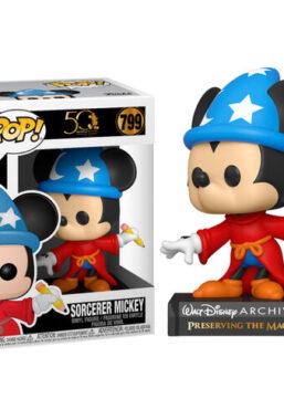 Copertina di Mickey Mouse Apprentice Mickey Funko Pop 799