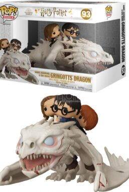 Copertina di Hp Dragon W/Harry & Ron & Hermione Funko Pop 93