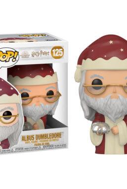 Copertina di Hp Holiday Albus Dumbledore Funko Pop 125