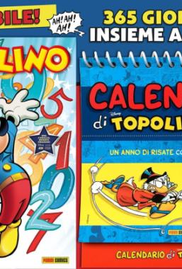 Copertina di Topolino n.3392 + Calendario 2021