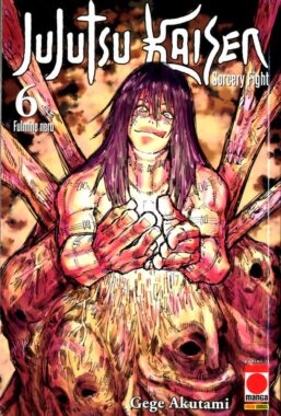 Copertina di Jujutsu Kaisen Sorcery Fight n.6