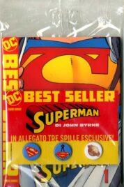 DC Best Seller – Superman Di John Byrne n.1 Variant Allegato 3 Pin Set
