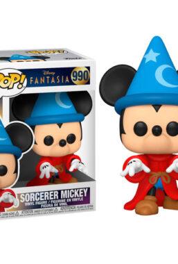 Copertina di Fantasia 80th Sorcerer Mickey Funko Pop 990